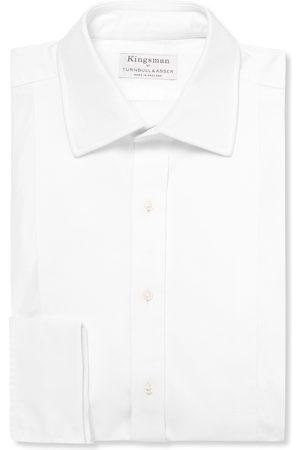 KINGSMAN + Turnbull & Asser Bib-front Cotton Tuxedo Shirt