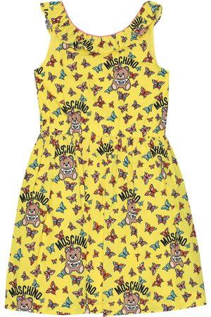 Moschino Bedrucktes Kleid aus Baumwolle