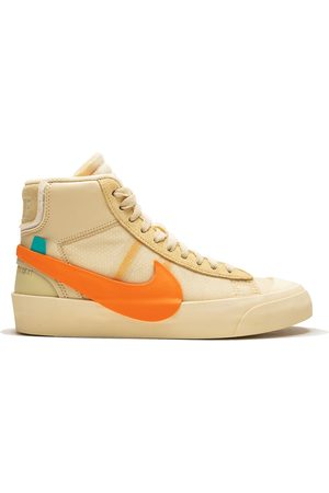 Nike X Off-White 'The 10: Blazer Mid' Sneakers - CANVAS/PALE VANILLA-BLACK-TOTA