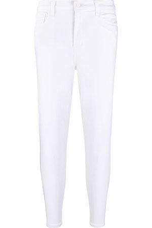 J Brand Halbhohe Skinny-Jeans