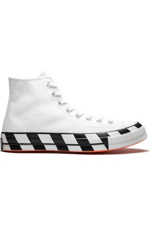 Converse Chuck 70' High-Top-Sneakers - WHITE/CONE/BLACK