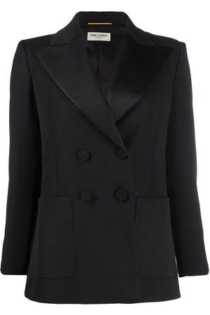 Saint Laurent Double-breasted tuxedo jacket