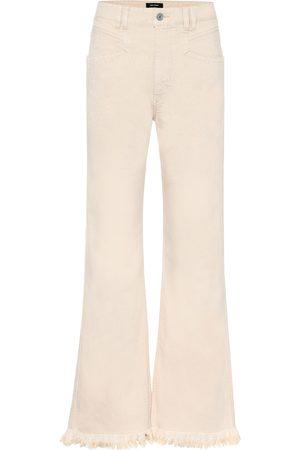 Isabel Marant High-Rise Jeans Elvira mit weitem Bein