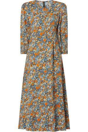 YAS Blusenkleid mit Dreiviertelärmeln Modell 'Pepitas