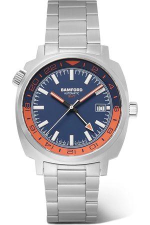 Bamford Watch Department Herren Uhren - Gmt Automatic 40mm Stainless Steel Watch