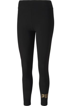 Puma Essential Leggings Damen in black-gold