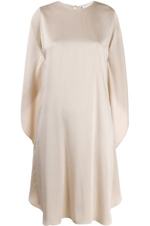 Stella McCartney Drapiertes Kleid - Nude
