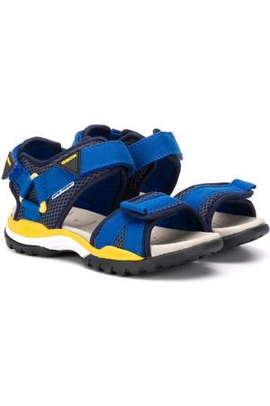 Geox Open toe touch-strap sandals