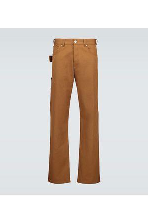Bottega Veneta Straight-Leg Jeans mit Zierschlaufe