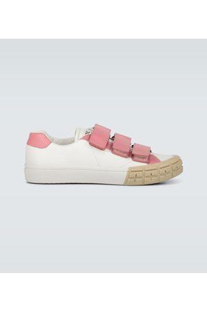 Prada Sneakers Wheel aus Leder