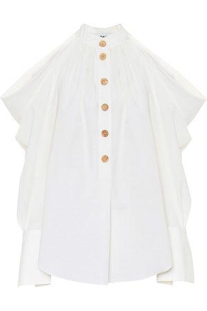 MONSE Bluse aus Baumwolle und Leinen