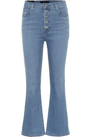 J Brand High-Rise Flared Jeans Lilie