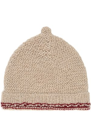 Caramel Baby Mütze Mayfair aus Alpakawolle