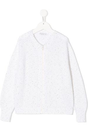 Brunello Cucinelli Zipped long-sleeve cardigan
