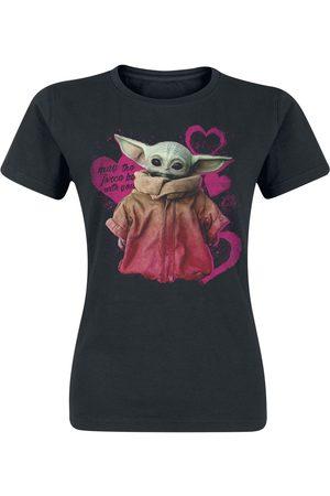 STAR WARS Mädchen Shirts - The Mandalorian - Hearts - Grogu Girl-Shirt