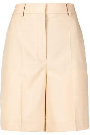 Stella McCartney High-waist tailored shorts - Nude