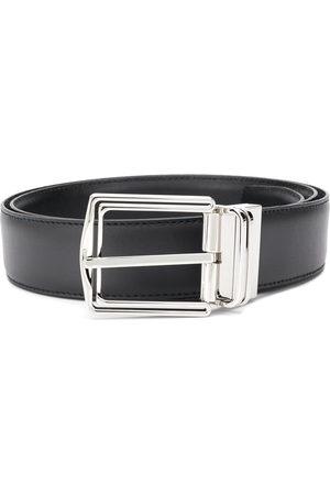 Ermenegildo Zegna Polished-buckle belt