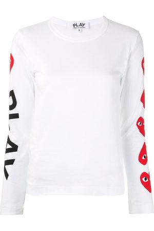 Comme Des Garçons Play Damen Shirts - Oberteil mit Logo-Print