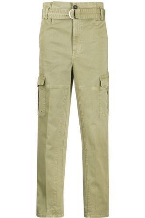 Frame High-waisted cargo trousers
