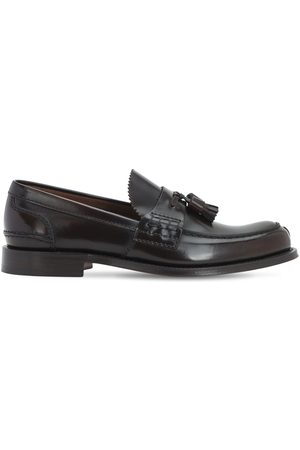 Church's Herren Halbschuhe - Binder Fumè Glossy Leather Loafers