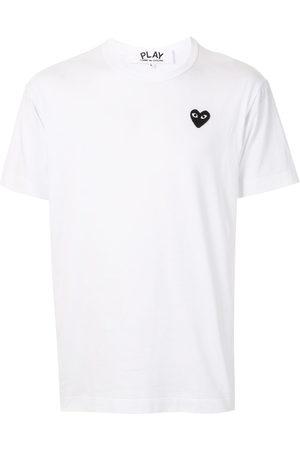Comme des Garçons Herren Shirts - T-Shirt mit Logo-Stickerei