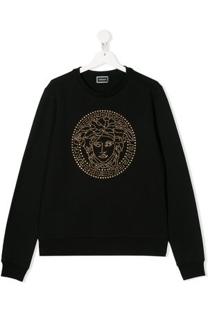VERSACE Sweatshirt mit Medusa-Motiv