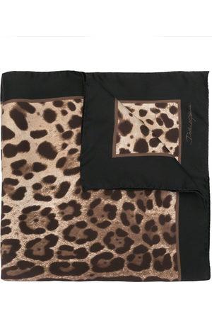 Dolce & Gabbana Schal mit Leoparden-Print