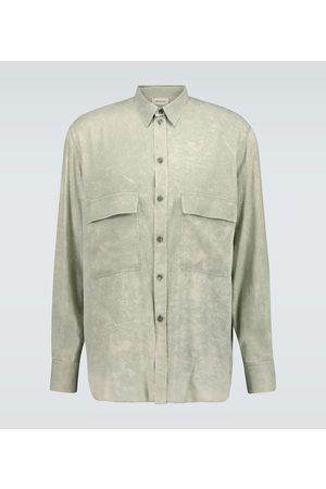 Rochas Langarmhemd Quartilla aus Seide