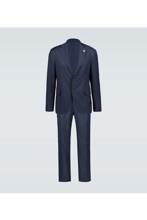 LARDINI Slim-Fit Reiseanzug Easy Wear