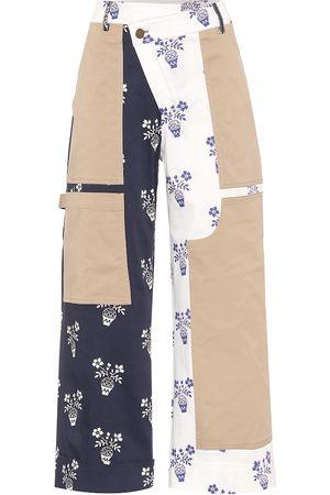 MONSE Patchwork-Hose aus Baumwolle