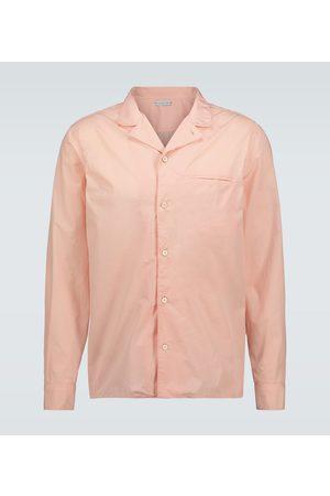 CARUSO Langarmhemd aus Baumwolle