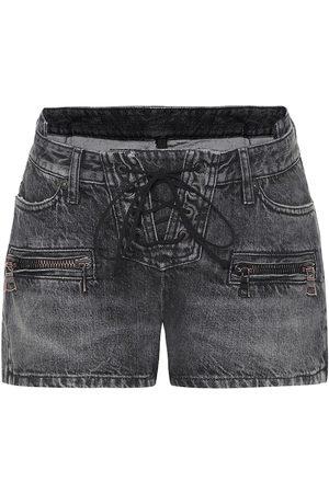 UNRAVEL Jeansshorts mit Schnürung