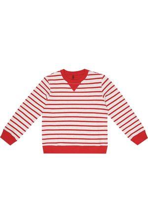 Brunello Cucinelli Gestreiftes Sweatshirt aus Baumwolle