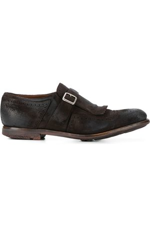 Church's Shanghai suede buckle loafers