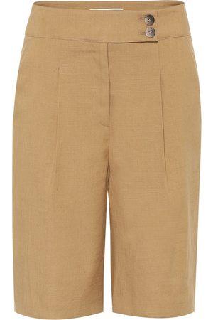 VERONICA BEARD Shorts aus einem Leinengemisch