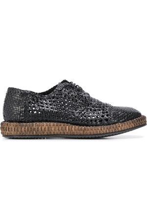 Dolce & Gabbana Derby-Schuhe mit Flechtmuster