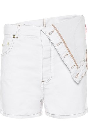 Y / PROJECT High-Rise Jeansshorts