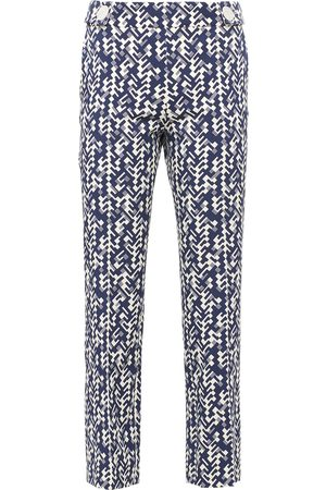 Prada Graphic print cropped trousers