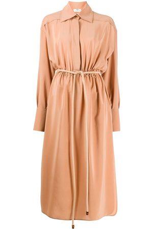 Fendi Damen Freizeitkleider - Rope-belt shirt dress - Nude