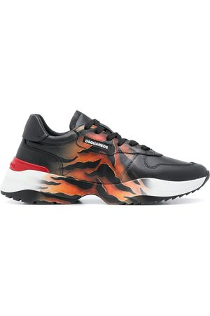 Dsquared2 D42' Sneakers mit Tiger-Print