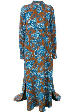 Ami Paris Kleid mit langen Ärmeln