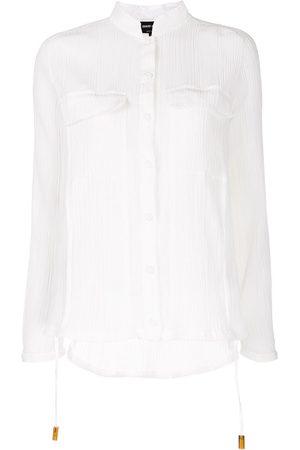 Giorgio Armani Hemd mit Sheer-Effekt