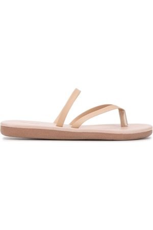 Ancient Greek Sandals Flip-Flops aus Leder - Nude