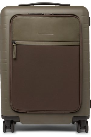 Horizn Studios Herren Koffer - M5 55cm Polycarbonate, Nylon And Leather Carry-on Suitcase