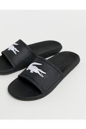Lacoste Herren Clogs & Pantoletten - Slider mit Kroko-Logo in