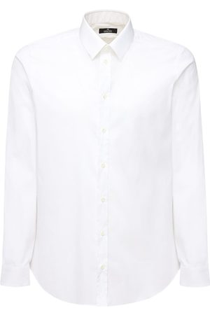ALESSANDRO GHERARDI Stretch Cotton Shirt