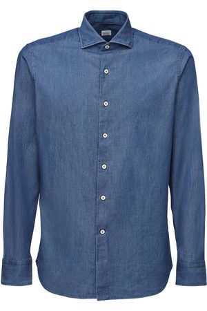 ALESSANDRO GHERARDI Herren Denim - Cotton Denim Shirt