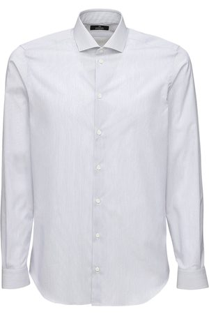ALESSANDRO GHERARDI Herren Shirts - 1000 Righe Cotton Shirt