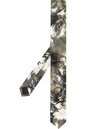 Gianfranco Ferré 1990s Krawatte mit abstraktem Print