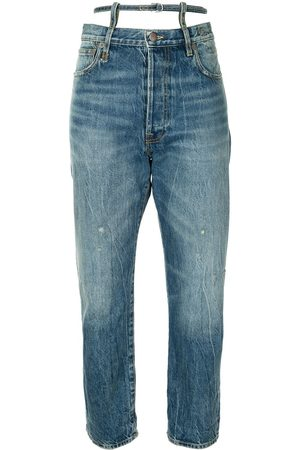 R13 Gerade 'Ollie' Jeans